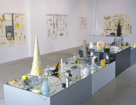 Installation view: <em>Death Rock City</em>, 2004. Courtesy of the artist.