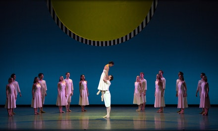 "Stella Abrera and Cory Stearns in ""Daphnis and Chloe<em>."" </em>Photo: Rosalie O'Connor."