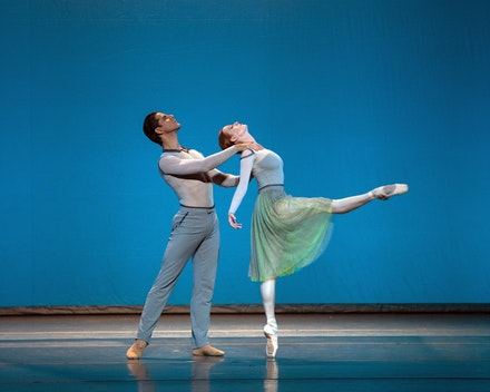 <p>&nbsp;Gillian Murphy and Marcelo Gomes in