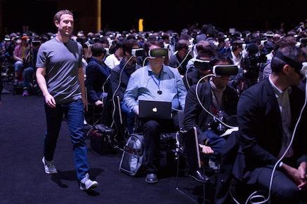 Mark Zuckerberg, Facebook.
