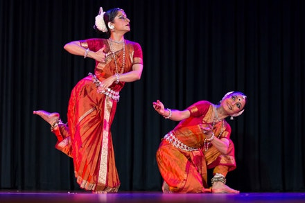 Nrityagram Dance Ensemble: Surupa Sen and Bijayini Satpathy. Photo: Shalini Jain.