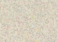 Richard Pousette-Dart, <em>Radiance #1 White</em> (detail), 1967. Oil on canvas. 80 × 80 inches. Photograph by Kerry Ryan McFate, Courtesy of Pace Gallery. © 2016 Estate of Richard Pousette-Dart / Artists Rights Society (ARS), New York.