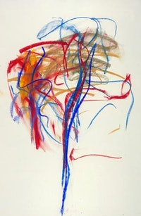 """Joan Mitchell, """"Pastel"""" (1991). Pastel on paper. 48"""" x 31 ½"""". © 2007 The Estate of Joan Mitchell, used with permission. Courtesy Cheim & Read."""