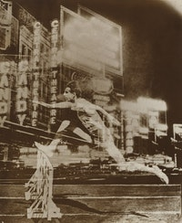 El Lissitzky, <em>Record</em>, 1926. Gelatin silver print. 10 1/2 × 8 13/16 inches.
