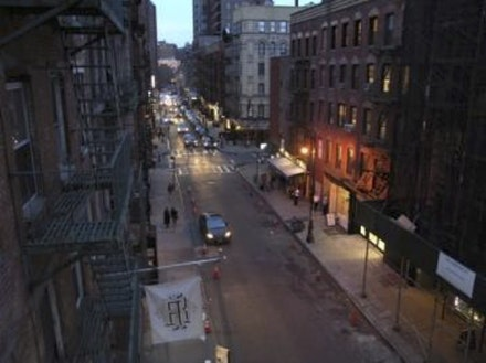 Wolfgang Staehle, <em>Ludlow Street (2016-03-10)</em>, 2016. 11701 digital photographs, 24 hour cycle, custom software.