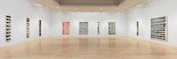 Installation view: <i>Painting Paintings (David Reed) 1975</i>, 2017. © David Reed / Artists Rights Society (ARS), New York.