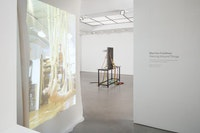 Installation view: Martha Friedman, <em>Dancing Around Things</em>, Andrea Rosen Gallery 2 February 10 – March 11, 2017.
