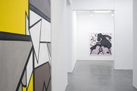 Carroll Dunham, Paintings, installation view. Gladstone Gallery, New York. Photo: David Regen. Courtesy Gladstone Gallery.