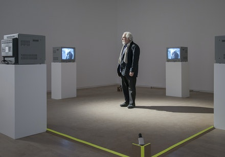 Installation view: <i>video ergo sum</i>, Galerie nationale du Jeu de Paume, Paris, February 14 – May 28, 2017. Courtesy Jeu de Paume. © Jeu de Paume, Adrien Chevrot.