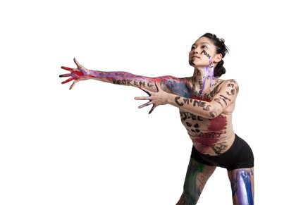 Festival participant Jessica Chen of the J Chen Dance Project. Photo: Paul Dimalanta.