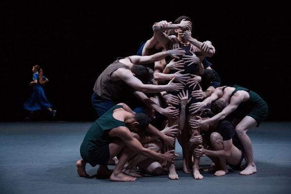 Batsheva Dance Company in <em>Last Work</em><em>. </em>Photo: Julieta Cervantes.