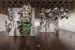 Installation view: <em>Marisa Merz: The Sky Is a Great Space</em>. The Metropolitan Museum of Art, January 24 &#8211; May 7, 2017.