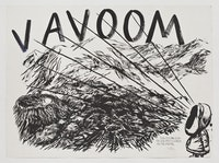 Raymond Pettibon,<em> No title (This feeling is)</em>, 2011. Pen and ink on paper, 37 1/4 × 49 1/2 inches. Aishti Foundation, Beirut, Lebanon. Courtesy the artist and Regen Projects.