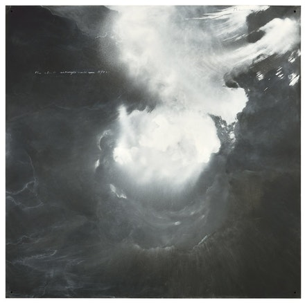 Tacita Dean, <em>The clouds me thought would open</em>, 2015. Collection Steve Tisch, Los Angeles. Photo: Alex Yuzdon. Courtesy El Museo Tamayo.