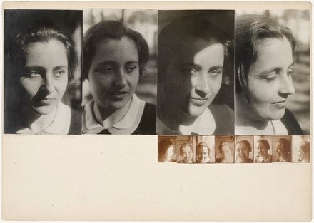 Josef Albers,&#160;<em>Marli Heimann, All During an Hour</em>, 1931/1932. Gelatin silver prints mounted to board. 11 11/16 &#215; 16 7/16 inches overall. The Museum of Modern Art, New York. &#169; 2016 The Josef and Anni Albers Foundation / Artists Rights Society (ARS), New York. Photo: John Wronn.