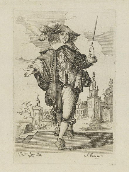 <p>Abraham Bosse after Jean de Saint Igny, Plate 4 from <em>The Garden of the French Nobility</em>, 1629. Etching and burin, 5.6 x 3.7 inches. Photo © Victoria and Albert Museum, London.</p>