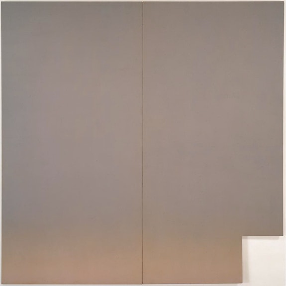Robert Mangold, <em>Pink Area</em>, 1965.