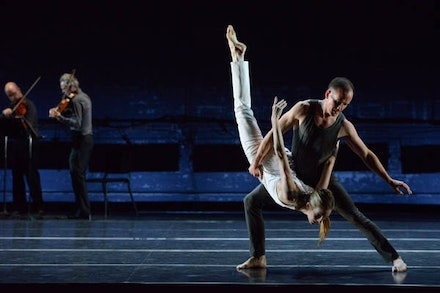 <p>Wendy Whelan and Brian Brooks in <em>Some of a Thousand Words</em>. Photo: Nir Arieli.</p>