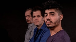 <p>Richard Toth, Mike Shapiro, and Fernando Gonzales are <em>Charleses</em>. Photo: Skye Morse-Hodgson.</p>