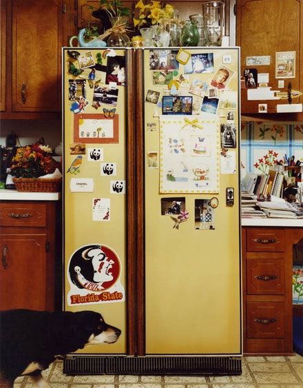 Roe Ethridge, <em>Refrigerator</em>, 1999. C-print. 30 x 24 inches. Courtesy the artist and Andrew Kreps Gallery, New York.