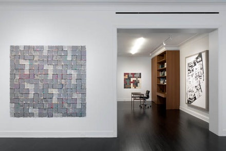 Installation view: <i>Allan McCollum, Works: 1968-1977</i>. Petzel Gallery, New York: March 2 – April 29, 2017. Courtesy Petzel Gallery, New York.