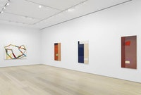 Installation view: <em>Al Taylor: Early Paintings</em>, at David Zwirner New York, February 24 – April 15, 2017. © 2017 The Estate of Al Taylor. Courtesy David Zwirner, New York/London.