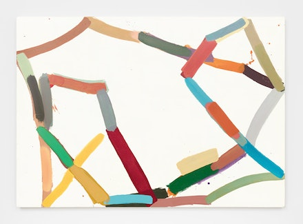 Al Taylor, <em>Untitled</em>, 1971. Alkyd and oil on canvas. 60 x 84 inches. © 2017 The Estate of Al Taylor. Courtesy David Zwirner, New York/London.