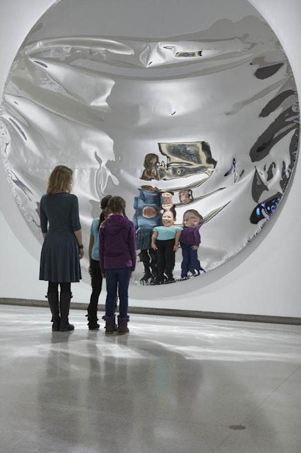 Installation view: Merce Cunningham, <em>Common Time</em>, Walker Art Center, Minneapolis, February 8 &#8211; July 30, 2017. Courtesy Walker Art Center.
