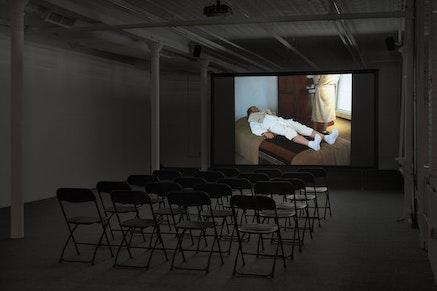 Installation view: Jos de Gruyter and Harald Thys, <em>Xanax Film Festival</em>, Gavin Brown's enterprise, New York, February 25 &#8211; April 30, 2017. Courtesy Gavin Brown's enterprise.