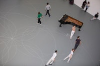 Anna Teresa De Keersmaeker, <em>Work/Travail/Arbeid</em>, the Museum of Modern Art, March 29 – April 2, 2017. © 2017 The Museum of Modern Art, New York. Photo: Julieta Cervantes.