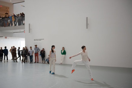 Anna Teresa De Keersmaeker, <em>Work/Travail/Arbeid</em>, the Museum of Modern Art, March 29 &#8211; April 2, 2017. &#169; 2017 The Museum of Modern Art, New York. Photo: Julieta Cervantes.
