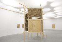Installation view: Olaf Holzapfel, various materials. Photo: Stathis Mamalakis.