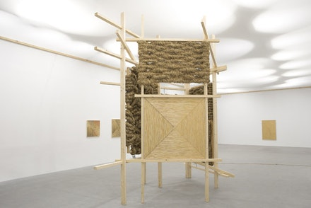 Installation view: Olaf Holzapfel, various materials. Photo: Stathis Mamalakis.