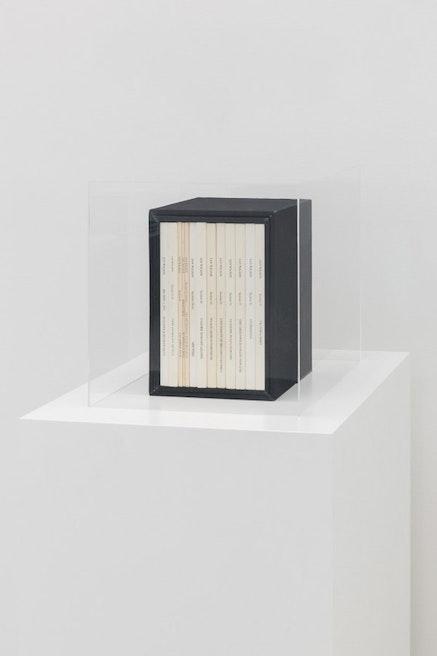 Ian Wilson, <em>Sections 1&#8211;57</em>, 1971 &#8211; 90. Courtesy the artist and Jan Mot, Brussels.