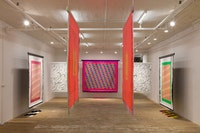 Installation view: Lisa Alvarado, <em>Sound Talisman</em>, Bridget Donahue, New York, March 26 - May 21, 2017. © Lisa Alvarado. Courtesy the artist and Bridget Donahue, New York.