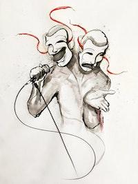 Illustration by Jethro Rebollar.