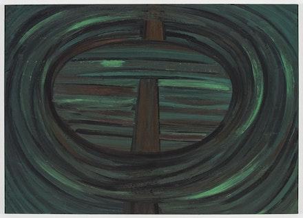 Robert Bordo, <em>Wacko</em>, 2012. Oil on canvas. 40 &#215; 56 inches.