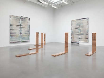 Installation view: Walead Beshty, <em>Open Source</em>, April 20 - June 17, 2017. Courtesy the artist and Petzel, New York.