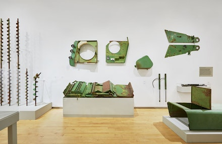 David Brooks. Continuous Service Altered Daily (Water Purification zone). Installation at the Aldrich. Photo Tom Powel.