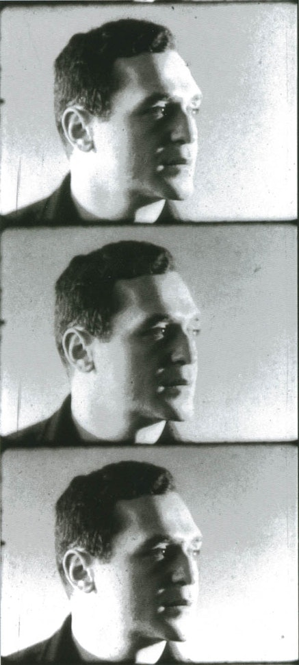 FILM STILLS OF JOHN GIORNO FROM ANDY WARHOL&#146;S <EM>SCREEN TEST</EM>, NEW YORK, 1964-6 &copy; THE ANDY WARHOL MUSEUM, PITTSBURGH; FOUNDING COLLECTION, 2017 THE ANDY WARHOL FOUNDATION FOR THE VISUAL ARTS, INC./ ARTISTS RIGHTS SOCIETY (ARS), NEW YORK.