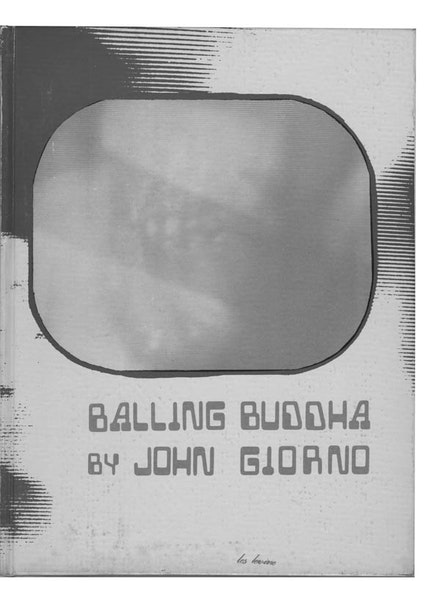 <EM>BALLING BUDDHA</EM>, (KULCHUR FOUNDATION, 1970). BOOK COVER BY LES LEVINE.