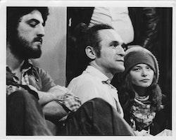 ANNE WALDMAN AND JOHN GIORNO IN INDIA CIRCA, 1977.