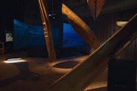 A Decade Platform, artist-built boats by Mare Liberum. (Photo credit: Marina McClure)