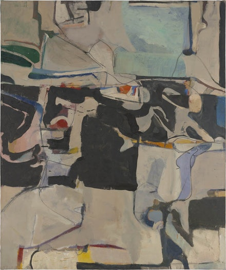 Richard Diebenkorn, <em>Urbana #6</em>, 1953; oil on canvas; Modern Art Museum of Fort Worth, museum purchase, Sid W. Richardson Foundation Endowment Fund; ©The Richard Diebenkorn Foundation