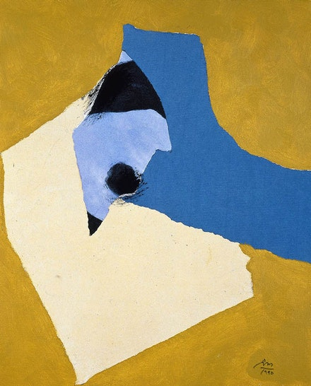 Second State: Robert Motherwell, Mozart Rondo, 1990-1991. Dedalus Foundation Archives.
