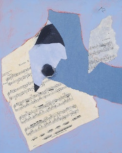 Fourth State: Robert Motherwell, Mozart Rondo, 1990-1991. Dedalus Foundation Archives.