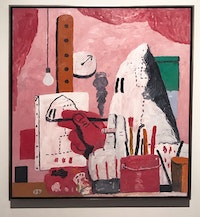 Philip Guston, <em>The Studio</em>, 1969. Oil on canvas. 71 x 73 1/4 in. Photo: Will Whitney.