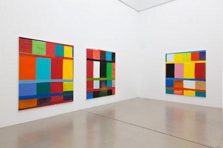 Stanley Whitney, installation view, documenta Halle, Kassel, documenta 14, photo: Roman März