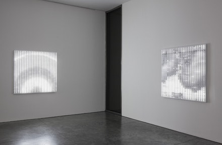 Installation view of <em>Leo Villareal</em>. 537 West 24th Street, New York. May 4-August 11, 2017. © Leo Villareal. Photography by Mark Waldhauser, courtesy Pace Gallery.