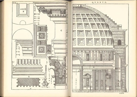 Palladio from The Four Books of Architecture, 1570